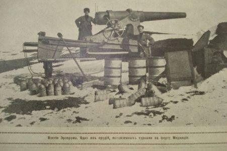 16 февраля - взятие турецкой крепости Эрзерум