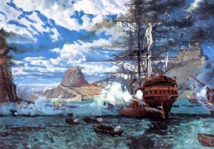 Март 1799 года - штурм острова Корфу
