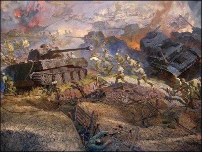 12 июля - битва под Прохоровкой