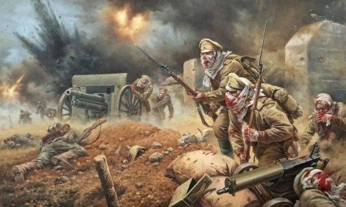 6 августа 1915 года - подвиг защитников крепости Осовец
