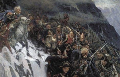 24 сентября - переход Суворова через Сен-Готард