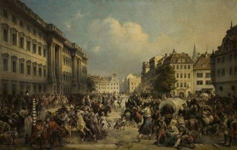 9 октября 1760 года русские войска взяли Берлин