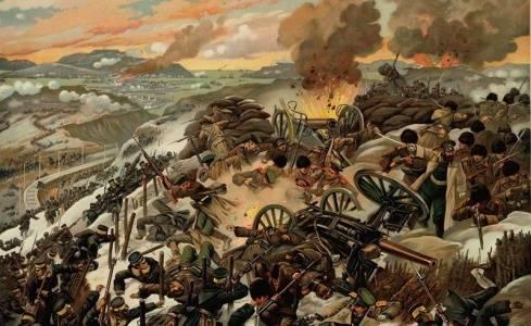 26 ноября 1904 года русские войска отразили штурм Порт-Артура