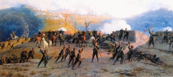 28 декабря - разгром турецкой армии у Шипкинского перевала