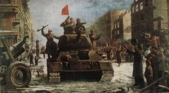 13 февраля - освобождение Будапешта