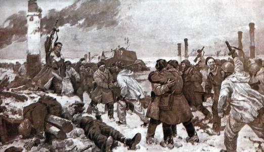 27 января - полное освобождение Ленинграда от фашистской блокады